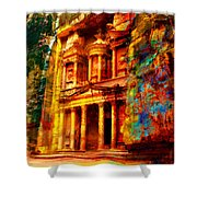 Petra Shower Curtain by Catf