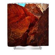 Petroglyphs Valley Of Fire Nevada Shower Curtain