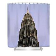 Petronas Pinnacle Shower Curtain