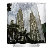 Petronas Reflecting Shower Curtain