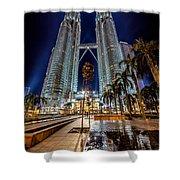 Petronas Twin Towers Shower Curtain