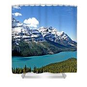 Peyto Lake October Shower Curtain