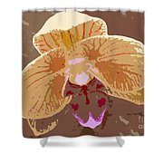 Phalaenopsis Synopsis Shower Curtain