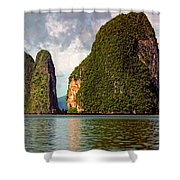 Phang Nga Bay Shower Curtain