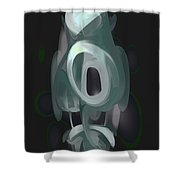 Phantasm Pastel Abstract Shower Curtain