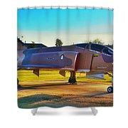 Phantom 4 Jet Vietnam Era Shower Curtain