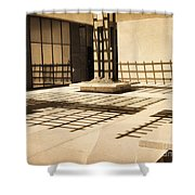 Phantom Fences2 Shower Curtain