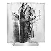 Pharmacist, 19th Century Shower Curtain