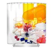 Pharmacopoeia  Shower Curtain