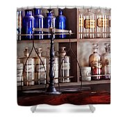 Pharmacy - Apothecarius  Shower Curtain