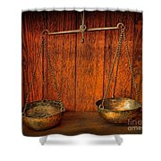 Pharmacy -apothecary Scale Shower Curtain