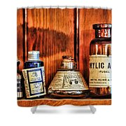 Pharmacy - Cocaine In A Bottle Shower Curtain