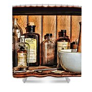 Pharmacy - Mixing Bowl Shower Curtain