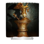 Pharmacy - Pestle - Proud Pharmacists  Shower Curtain