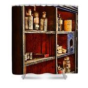 Pharmacy - The Back Room Shower Curtain