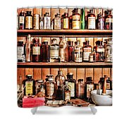 Pharmacy - The Medicine Shelf Shower Curtain