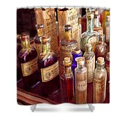 Pharmacy - The Selection  Shower Curtain by Mike Savad