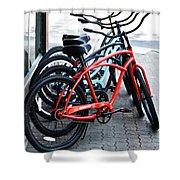 Phat Bikes Shower Curtain