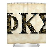 Phi Kappa Sigma - Parchment Shower Curtain