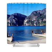 Phi Phi Islands Thailand Shower Curtain