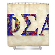 Phi Sigma Alpha - Parchment Shower Curtain