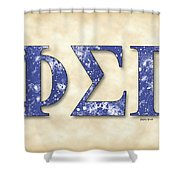 Phi Sigma Gamma - Parchment Shower Curtain