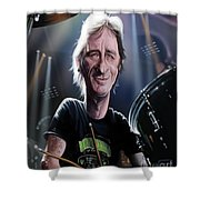 Phil Rudd Shower Curtain