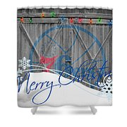 Philadelphia 76ers Shower Curtain