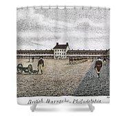 Philadelphia: Barracks Shower Curtain