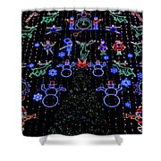 Philadelphia Christmas Shower Curtain