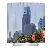Philadelphia - City On The Rise Shower Curtain