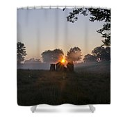Philadelphia Cricket Club Sunrise Shower Curtain by Bill Cannon