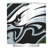 Philadelphia Eagles Football Shower Curtain