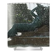 Philadelphia Fountain One Shower Curtain