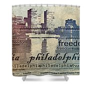 Philadelphia Freedom Shower Curtain