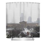 Philadelphia From Lemon Hill Shower Curtain