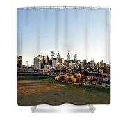 Philadelphia From South Street Shower Curtain