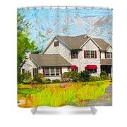 Philadelphia House Shower Curtain