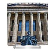 Philadelphia Museum Of Art John Marshall Chief Justice Of The Us  Shower Curtain
