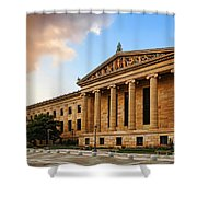 Philadelphia Museum Of Art Shower Curtain