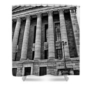 Philadelphia Museum Of Art - West Entrance Shower Curtain