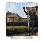 Philadelphia - Rocky  Shower Curtain