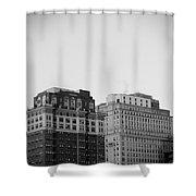 Philadelphia Skyline 2 Shower Curtain