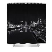 Philadelphia Skyline Shower Curtain