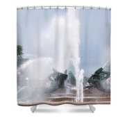 Philadelphia - Swann Memorial Fountain Shower Curtain
