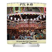Philadelphia Toboggan Company Carousel Shower Curtain