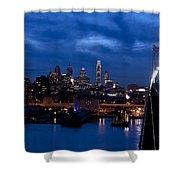 Philadelphia Twilight Shower Curtain