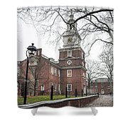 Philadelphia's Independence Hall Shower Curtain