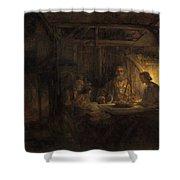 Philemon And Baucis Shower Curtain