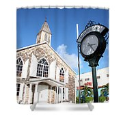 Philipsburg Sint Marteen Shower Curtain
